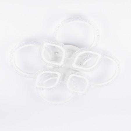 Люстра 4light 2547/4+4Q White 100W LED