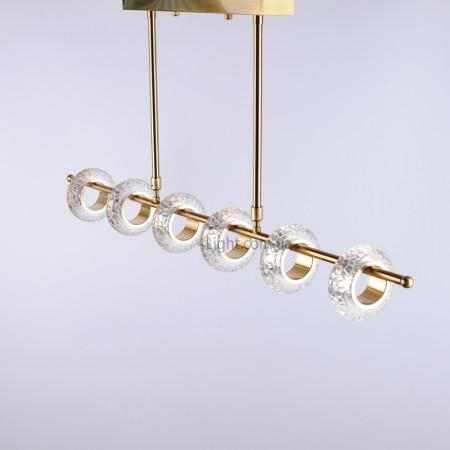 Люстра 4light 58B A/6 LED Gold