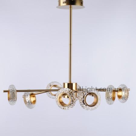 Люстра 4light 58А/8 LED Gold