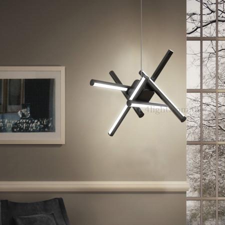 Люстра 4light 8021 Black LED 76Вт